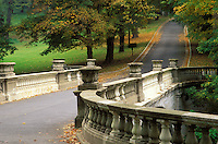Road over White Bridge, Vanderbilt Mansion National Historic Site, Hyde Park, Dutchess County, New Yor