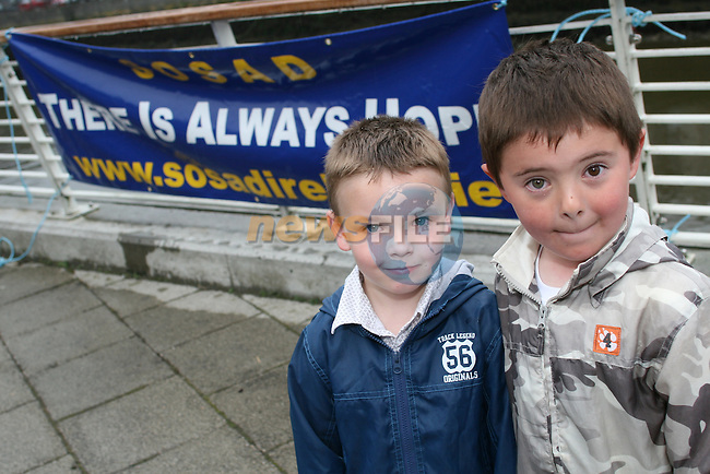 Rhys Davies and Adam Hoey at the SOSAD River Lights Festival, Riverside Square, Scotch Hall..Photo NEWSFILE/Jenny Matthews.(Photo credit should read Jenny Matthews/NEWSFILE)....This Picture has been sent you under the condtions enclosed by:.Newsfile Ltd..The Studio,.Millmount Abbey,.Drogheda,.Co Meath..Ireland..Tel: +353(0)41-9871240.Fax: +353(0)41-9871260.GSM: +353(0)86-2500958.email: pictures@newsfile.ie.www.newsfile.ie.FTP: 193.120.102.198.