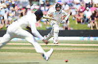 24th November 2019; Mt Maunganui, New Zealand;  BJ Watling takes a single during play on day 4 of the 1st international cricket test match, New Zealand versus England at Bay Oval, Mt Maunganui, New Zealand.  - Editorial Use
