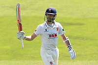 James Foster of Essex leaves the field having been dismissed for 121 during Essex CCC vs Warwickshire CCC, Specsavers County Championship Division 1 Cricket at The Cloudfm County Ground on 20th June 2017