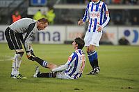VOETBAL: SC HEERENVEEN: Abe Lenstra Stadion, 17-02-2012, SC-Heerenveen-NAC, Eredivisie, Eindstand 1-0, Filip Djuricic, Jelle ten Rouwelaar, ©foto: Martin de Jong