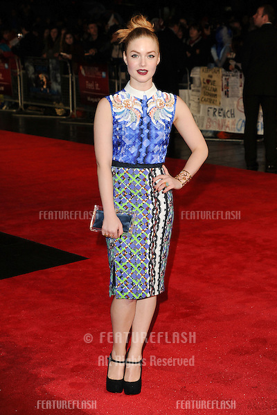 "Holliday Grainger at the premiere for ""Great Expectations"" being shown as the closing film of the London Film Festival 2012, Odeon Leicester Square, London. 21/10/2012 Picture by: Steve Vas / Featureflash"