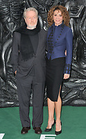 Sir Ridley Scott and Giannina Facio at the Alien: Covenant world film premiere, Odeon Leicester Square cinema, Leicester Square, London, England, UK, on Thursday 04 May 2017.<br /> CAP/CAN<br /> &copy;CAN/Capital Pictures /MediaPunch ***NORTH AND SOUTH AMERICAS ONLY***