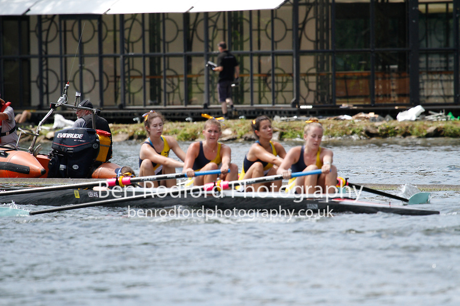 Race: 339 Event: J4+ Semi-Final - Henley RC  vs Merion Mercy Acad (USA) <br /> <br /> Henley Women's Regatta 2017<br /> <br /> To purchase this photo, or to see pricing information for Prints and Downloads, click the blue 'Add to Cart' button at the top-right of the page.