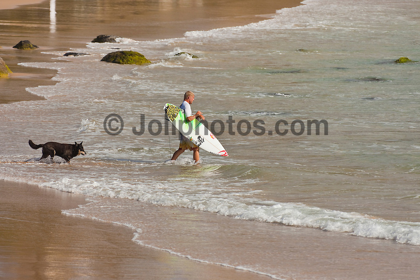 "Coolangatta, Queensland, Australia (Sunday February 13th 2011): Mick Fanning (AUS).   SNAPPER SURFRIDERS CLUB have confirmed their status as Australia's premier boardriding club by winning the 2011 Rhythm Kirra Teams Challenge in excellent 1m (3feet) surf at Duranbah Beach on the southern Gold Coast..It was Snapper's 9th win of this prestigious title, placing them well ahead of their closest rival Kirra who placed second..Today's victory was typical of this event, getting down to the very last surfer of their 8 man team to bring the victory home in a nail biting finish..Clint Kimmins was the Snapper surfer with all the pressure placed on him as the final surfer. The equation was simple, win the heat and win the title for Snapper, lose and the title would be won by either Merewether (NSW) or Kirra (Qld)... It was a see-sawing duel between Kimmins and Palm Beach Boardriders surfer Jeff Norris with multiple changes in the lead but in the end Kimmins won by just 0.23 of a point..""That was the toughest heat I've surfed"" said a relieved Kimmins after the heat.."" Surfing for the team, I knew the situation and I just tried to concentrate on surfing my best but the pressure was there - knowing Parko and Deano and the whole rest of the team had done their job to get us to a winning position - it was tough but it feels great now - we're number one club!"".Snapper's win was incredible as they started the event with 3 consecutive 2nd placings in their 8 surfer team and many thought they were gone in the early stages..However, their final 5 surfers brought home 5 consecutive wins and they stole the title..Their team and heat placing were as follows - Blake Ainsworth (2nd), Mitch Crews (2nd),  Jay Phillips (2nd), Ice Periera-Ryan (1st), Shaun Gossman (1st), Joel Parkinson (1st), Dean Morrison (1st) and Clint Kimmins (1st)... A number of outstanding ASP World Tour and former world tour surfers competed for the pride of their club today, lead by former two time world champion Mick Fa"