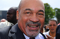 Desi Bouterse (Desiré Delano Bouterse) chosen as new president of Suriname by De Nationale Assemblée (DNA) / The National Assemble of Suriname. He took 36 votes of 51 as leader of the Mega Combination. ....Robert_Ameerali the head of KKF (Kamer van Koophandel en Fabrieken) / Chamber of Commerce and Industry also selected as Vice President.....Desi Bouterse (Desiré Delano Bouterse) will sworn at 3 August 2010