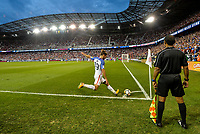 Harrison, N.J. - Friday September 01, 2017:  Graham Zusi during a 2017 FIFA World Cup Qualifying (WCQ) round match between the men's national teams of the United States (USA) and Costa Rica (CRC) at Red Bull Arena.