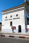 Inces Hall Theatre building, Gibraltar, British terroritory in southern Europe