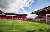 General view of the Stadium ahead of the Premier League match between Stoke City and Manchester United at the Britannia Stadium, Stoke-on-Trent, England on 9 September 2017. Photo by Andy Rowland.
