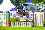 4th place.Willem Greve riding Faro. NED.The Old Lodge International  7&8 year old Championship. Showjumping. Longines FEI Jumping Nations Cup of Great Britain at the BHS Royal International Horse Show. All England Jumping Course. Hickstead. Great Britain. 29/07/2018. ~ MANDATORY Credit Elli Birch/Sportinpictures - NO UNAUTHORISED USE - 07837 394578