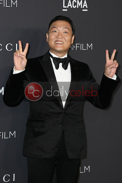 PSY<br /> at the 2016 LACMA Art +  Film Gala, LACMA, Los Angeles, CA 10-29-16<br /> David Edwards/DailyCeleb.com 818-249-4998