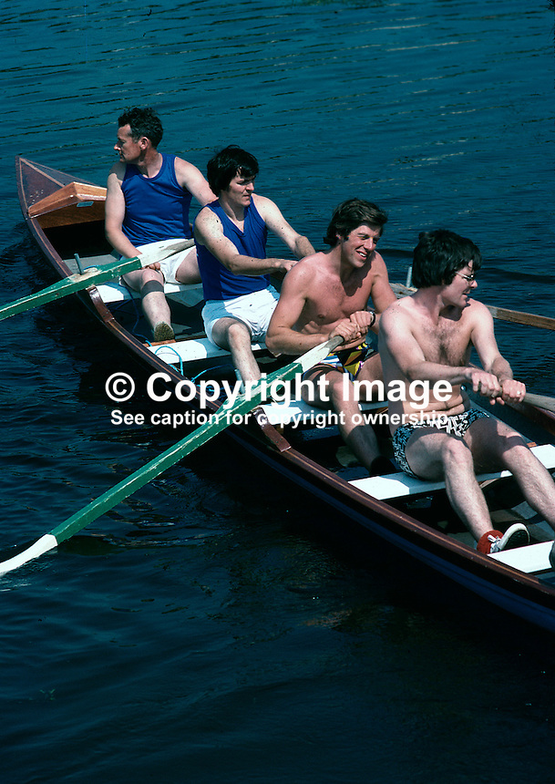 Mullanasole Regatta, Laghy, Co Donegal, Ireland, Lynn Temple, Magee & Company, third from left, 69/79, 197908000069..Copyright Image from Victor Patterson, 54 Dorchester Park, Belfast, UK, BT9 6RJ..Tel: +44 28 9066 1296.Mob: +44 7802 353836.Voicemail +44 20 8816 7153.Skype: victorpattersonbelfast.Email: victorpatterson@mac.com.Email: victorpatterson@ireland.com (back-up)..IMPORTANT: If you wish to use this image or any other of my images please go to www.victorpatterson.com and click on the Terms & Conditions. Then contact me by email or phone with the reference number(s) of the image(s) concerned.