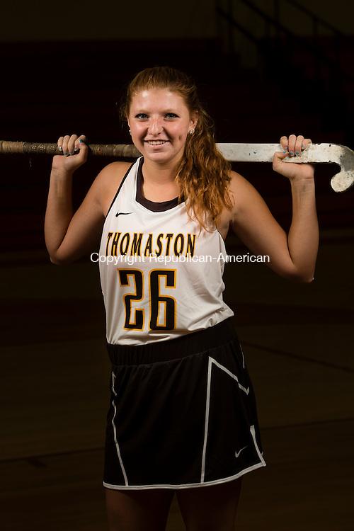 MILFORD, CT- 20 November 2015-112015EC07-  Julia Romaniello is a senior on the Thomaston field hockey team. Erin Covey Republican-American