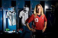 Kristine Lilly, USWNT Portraits, Carson, California, 2006.