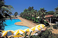 Turkey, Province Antalya, Konakli, holiday resort at Mediterranean Sea, Club Kastalia: Pool