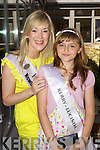 Kerry Rose Veronica Hunt with Kerry Rosebud Lucinda Hamilton at the Carlton Hotel, Tralee on Friday.
