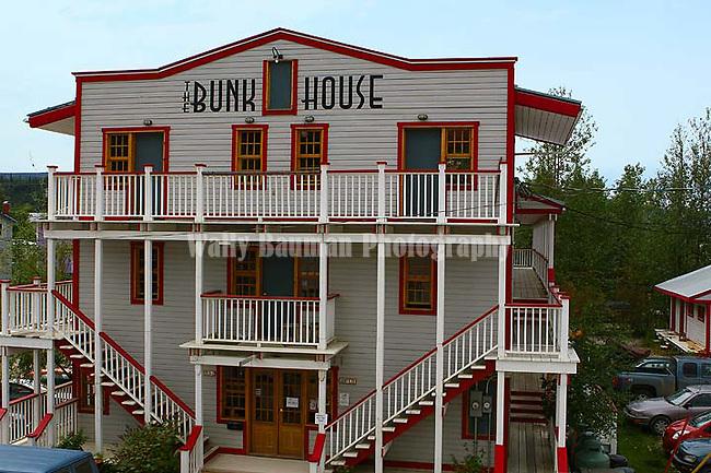 Dawson City 2010,THE YUKON TERRITORY, CANADA, Bunkhouse Hotel,