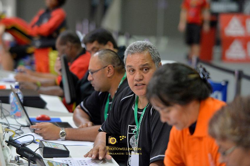 FiBA Oceania Pacific Basketball Championship at Te Rauparaha, Porirua, New Zealand on Thursday 28 November 2013.<br /> Photo by Masanori Udagawa.<br /> www.photowellington.photoshelter.com
