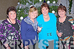 Pictured at the Christmas party night in the Killarney Oaks hotel on Saturday night were Kathleen Murphy, Mary O'Connor, Noreen Ashe and Ina Cotter, Milltown.