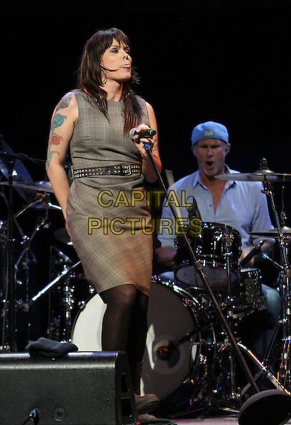 Los Angeles, CA - May 12: Beth Hart, Chad Smith Attending 2014 MusiCares MAP Fund Benefit Concert - Show At Club Nokia  California on May 12, 2014.  <br /> CAP/MPI/RTNUPA<br /> &copy;RTNUPA/MediaPunch/Capital Pictures