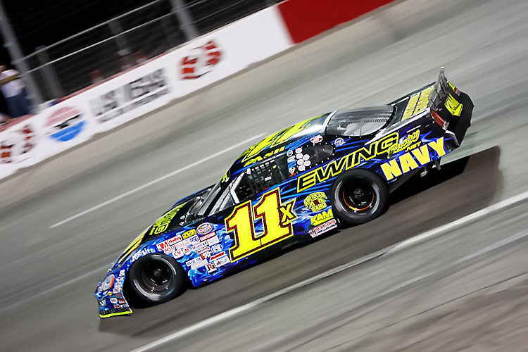 Dustin Ash cruises to a championship at the Bullring at LVMS in Las Vegas, NV.