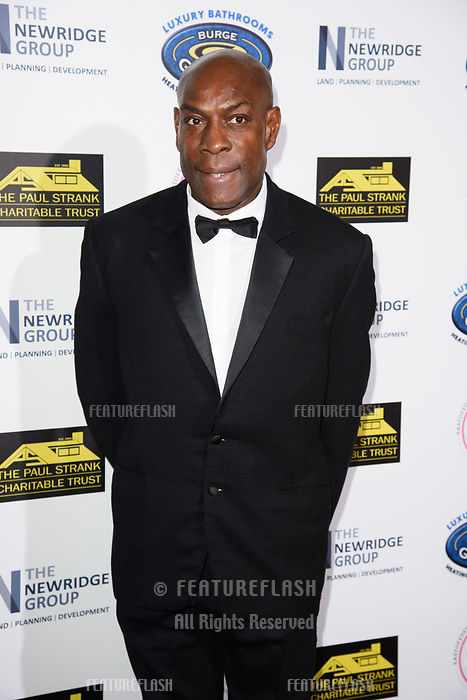 LONDON, UK. September 22, 2018: Frank Bruno at the Paul Strank Charitable Trust Annual Gala at the Bank of England Club, London.<br /> Picture: Steve Vas/Featureflash