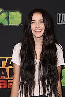 "Acacia Brinley<br /> at the premiere of ""Star Wars Rebels,"" AMC Century City, Century City, CA 09-27-14<br /> David Edwards/DailyCeleb.com 818-915-4440"
