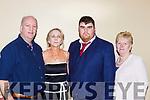 Gary O'Sullivan Castleisland at the Kerry Sports awards in the Gleneagle Hotel on Friday night l-r: Mags, Gary and MAry O'Sullivan