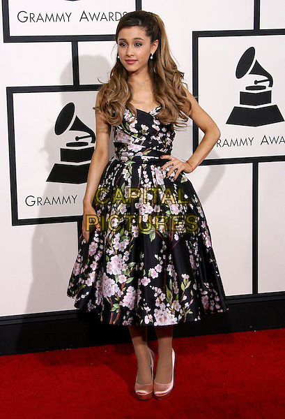 LOS ANGELES, CA - JANUARY 26 - Ariana Grande. 56th GRAMMY Awards held at the Staples Center. <br /> CAP/ADM<br /> &copy;AdMedia/Capital Pictures