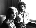 Hall & Oates 1975 Daryl Hall and John Oates.© Chris Walter.