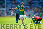 Brian Ó Beagaloich Kerry in action against  Galway in the All Ireland Senior Football Quarter Final at Croke Park on Sunday.