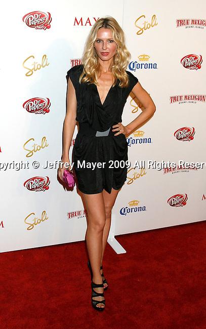 SANTA MONICA, CA. - May 13: Vanessa Branch arrives at the Maxim's 10th Annual Hot 100 Celebration at The Barker Hangar on May 13, 2009 in Santa Monica, California.