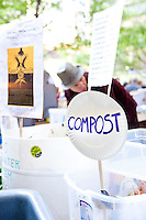 "A self sustaining community beings to form at the protest ""Occupy Wall Street"" which continues into its third week in Zuccotti Park in New York City on October 8, 2011."
