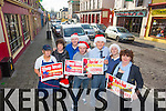 Traders from Listowel promoting a shop local campaign this Christmas