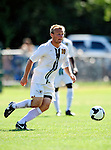 1 September 2009: University of Vermont Catamount midfielder Kyle Luetkehans, a Junior from LaGrange, IL, in action against the Siena College Saints at Centennial Field in Burlington, Vermont. The Saints edged out the Catamounts 1-0. Mandatory Photo Credit: Ed Wolfstein Photo