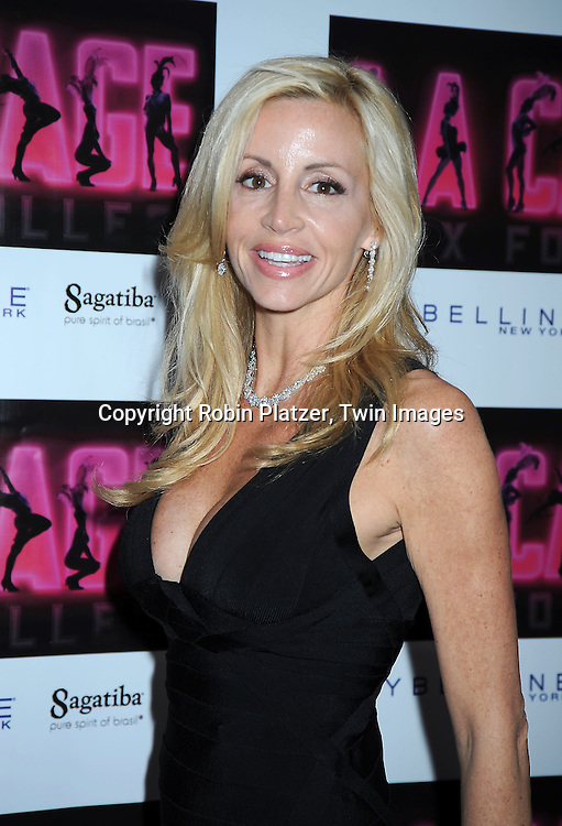 """Camille Donatucci Grammer arriving for the Broadway Opening night of """" La Cage Aux Folles"""" on April 18, 2010 at The Longacre Theatre in New York City."""