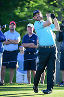 J.B. Holmes (USA) watches his tee shot on 11 during round 2 of the Shell Houston Open, Golf Club of Houston, Houston, Texas, USA. 3/31/2017.<br /> Picture: Golffile | Ken Murray<br /> <br /> <br /> All photo usage must carry mandatory copyright credit (&copy; Golffile | Ken Murray)