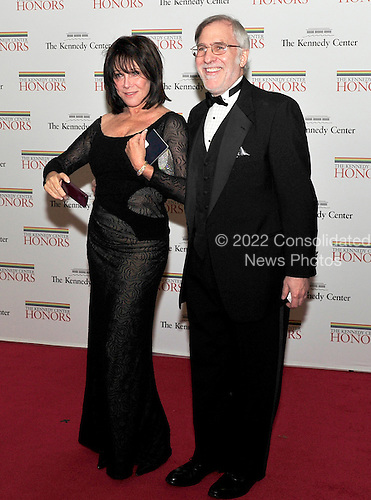 Michelle Lee and Fred Rappaport arrive for the formal Artist's Dinner honoring the recipients of the 2011 Kennedy Center Honors hosted by United States Secretary of State Hillary Rodham Clinton at the U.S. Department of State in Washington, D.C. on Saturday, December 3, 2011. The 2011 honorees are actress Meryl Streep, singer Neil Diamond, actress Barbara Cook, musician Yo-Yo Ma, and musician Sonny Rollins..Credit: Ron Sachs / CNP