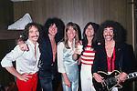 Journey 1979 Steve Smith, Gregg Rolie, Ross Valory, Steve Perry, Neal Schom.© Chris Walter.