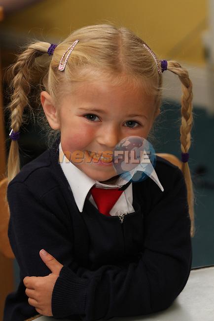 Donacarney NS 1st Day at School...Photo NEWSFILE/Jenny Matthews.