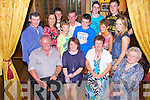 Celebrating her 21st was Brid Cahill from Templeglantine, pictured here with family and friends last Saturday night in Leen's Hotel, Abbeyfeale. F l-r: Donal, Brid, Margaret and Delia Cahill. B l-r: Padraig and Martina O'Sullivan, Patrick, Sean, Seamus and Stephen Cahill, Darragh O'Connor, Liz Cahill, Killian O'Donoghue and Kiara Cahill..