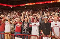 NWA Democrat-Gazette/Michael Woods --02/03/2015--w@NWAMICHAELW... University of Arkansas take on the South Carolina Gamecocks Tuesday evening at Bud Walton Arena in Fayetteville.