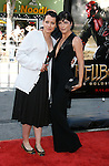 """Actress/Director Lori Petty and Actress Selma Blair arrive at the 2008 Los Angeles Film Festival's """"HellBoy: II The Golden Army"""" Premiere at the Mann Village Westwood Theater on June 28, 2008 in Westwood, California."""