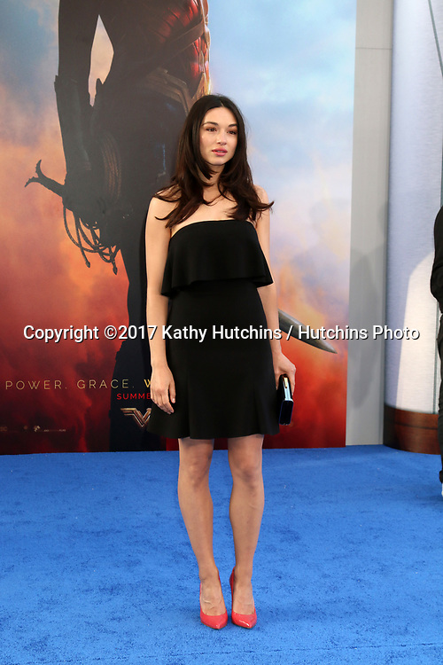 "LOS ANGELES - MAY 25:  Crystal Reed at the ""Wonder Woman"" Los Angeles Premiere at the Pantages Theater on May 25, 2017 in Los Angeles, CA"