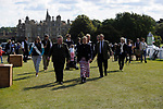 Stamford, Lincolnshire, United Kingdom, 8th September 2019, HRH The Countess of Wessex and Lady Louise Windsor visit the 2019 Land Rover Burghley Horse Trials, Credit: Jonathan Clarke/JPC Images