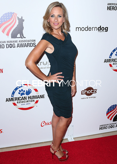 BEVERLY HILLS, CA, USA - SEPTEMBER 27: Marlee Matlin arrives at the 4th Annual American Humane Association Hero Dog Awards held at the Beverly Hilton Hotel on September 27, 2014 in Beverly Hills, California, United States. (Photo by Xavier Collin/Celebrity Monitor)