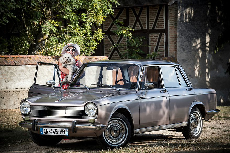 4/09/18 - LUSIGNY - ALLIER - FRANCE - Essais SIMCA 1500 en boite automatique de 1966 - Photo Jerome CHABANNE