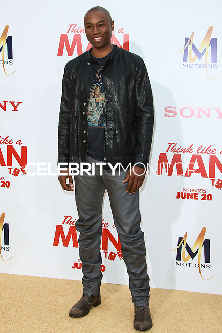 HOLLYWOOD, LOS ANGELES, CA, USA - JUNE 09: Robbie Jones at the Los Angeles Premiere Of Screen Gems' 'Think Like A Man Too' held at the TCL Chinese Theatre on June 9, 2014 in Hollywood, Los Angeles, California, United States. (Photo by David Acosta/Celebrity Monitor)
