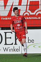 FC GULLEGEM - SK LONDERZEEL :<br /> Lennart Sampers viert zijn openingsdoelpunt<br /> <br /> Foto VDB / Bart Vandenbroucke