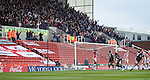 Stoke City 2 Bristol City 1, 19th April 2008. A goal gives Bristol City hope.Photo by Paul ThompsonStoke City 2 Bristol City 1, 19/04/2008. 	Britannia Stadium, Championship. Photo by Paul Thompson.